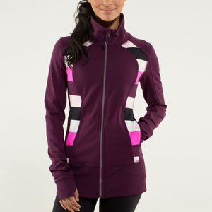 Lululemon Nice Asana Zip Up Jacket
